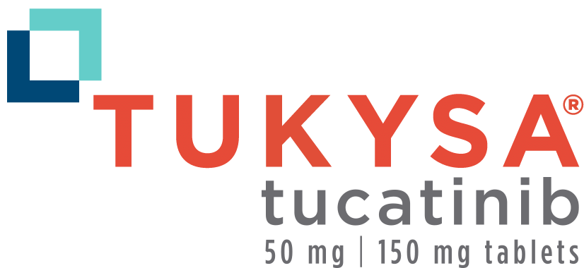 TUKYSA® (tucatinib) tablets logo